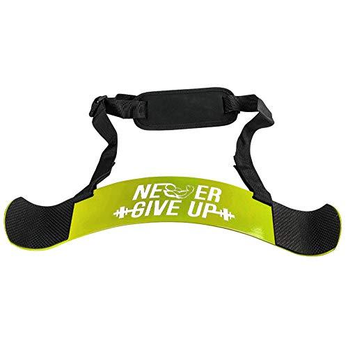 VICV2RO Biceps Arm Trainer 200 kg Esercizio Prevenzione Lesioni Allenamento Allenamento Allenamento Body Shaper Fitness Sollevamento Pesi Regolabile Multifunzione Home Training Board (Giallo)