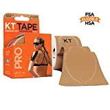 KT Tape Pro Kinesiology Therapeutic Sports Tape, 20 Precut 10 inch...