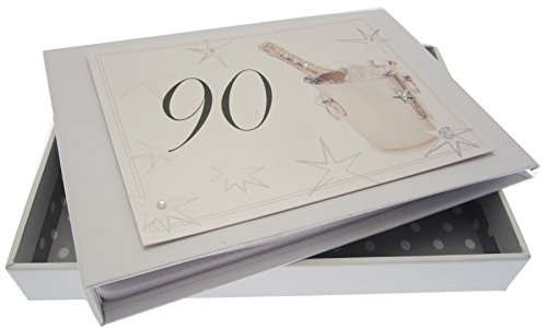 White Cotton Cards voor de 90e verjaardag,