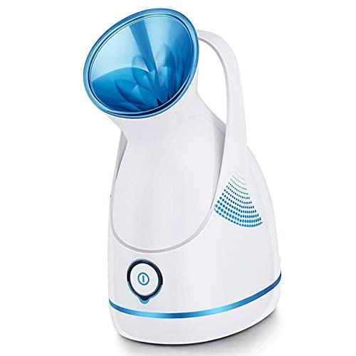 Vaporizador Facial Profesional, para Abrir Los Poros, Herramienta Hidratante para El Cuidado de La Piel Nano Ionic Facial Steamer, Limpieza Profunda