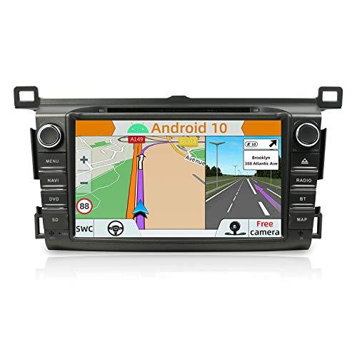 YUNTX Android 8.1 Navigatore audio per TOYOTA RAV4 (2013-2015) | doppio DIN | Canbus | 8 Pollici | 2GB ROM|32GB RAM | DAB+ Supporto | USB | SD | 3G/4G | WLAN | Bluetooth | MirrorLink | RDS