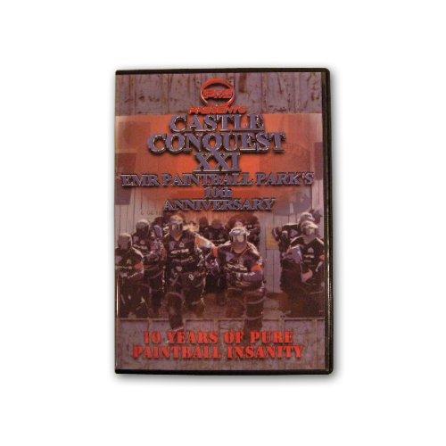 Castle Conquest XXI EMR 10th Anniversary Paintball Scenario Big Game 2006 DVD
