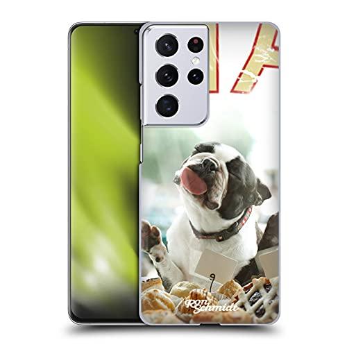 Head Case Designs Licenza Ufficiale Ron Schmidt Biscotto Cani Cover Dura per Parte Posteriore Compatibile con Samsung Galaxy S21 Ultra 5G