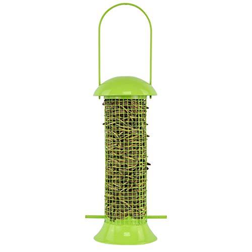 JXXDDQ Mangeoire pour Oiseaux Parc Fournitures pour Oiseaux Produits pour Animaux de Compagnie Oiseau Sauvage Jardin extérieur en Plein air Ports Suspendus Distributeur de Plastique pour semences