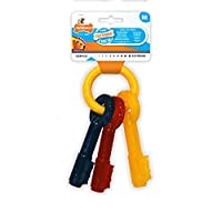 Made with soft, durable material designed specifically for teething puppies who have not formed any adult teeth Great for dental hygiene, tiny bristles raise on the bone during chewing, like a mini toothbrush to help keep teeth clean and prevent tart...