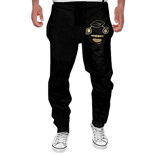 Mens Gold Guava Design Men's Casual Sweatpants Pants Large