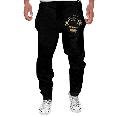 Mens Gold Guava Design Men's Casual Sweatpants Pants Large