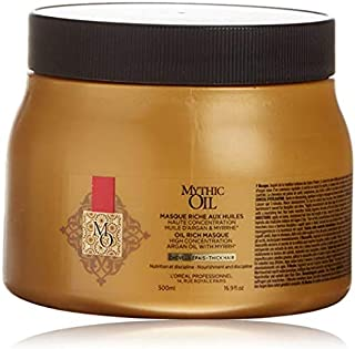 Loreal Professional Paris Mythic Oil Rich Masque Mask Thick Hair Straight Smooth Shine 500 ml 16.9 fl.oz