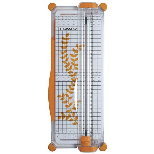 Fiskars Personal Surecut Paper Trimmer 30 cm - A4, With Cutting Line Guide,...