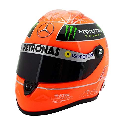 MBA-SPORT Michael Schumacher Final - Casco GP Formula 1 2012, scala 1:2