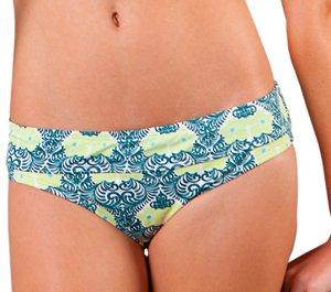 Carve Designs Women's Catalina Bathing Suit Bottom, Palmilla, Larg