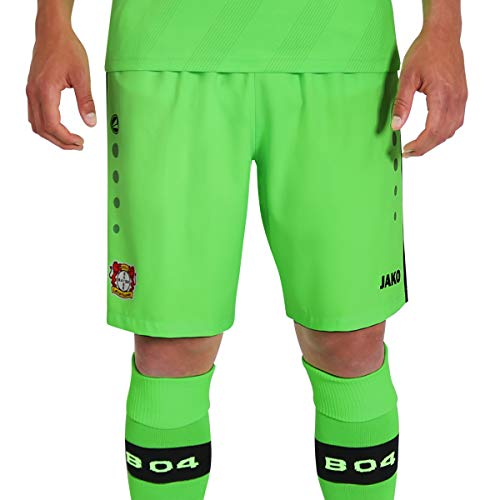 JAKO Herren, (Saison 19/20) Bayer 04 Leverkusen Tw Short, neongrün, L