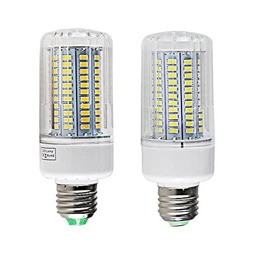 HHF LED Bulbs Lamps, 4 unids/Lote LED Bulbo de maíz E27 E14 Super 25W Dimmer 110V 220V Lámpara de Ahorro de energía Dimmable de Alta Potencia E14 Lámparas para el hogar de la Vela