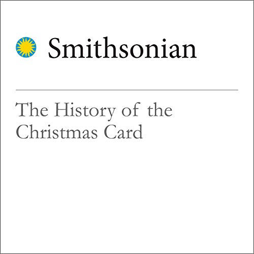 The History of the Christmas Card audiobook cover art