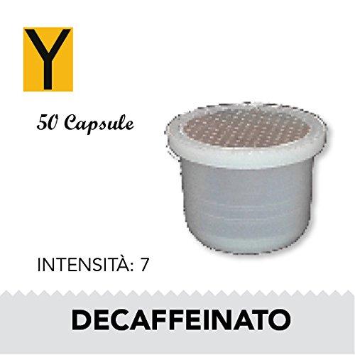 Yespresso Capsule Uno Indesit System Illy Kimbo Compatibili Decaffeinato - Confezione da 50 Pezzi