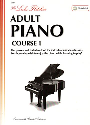 LF007 - The Leila Fletcher Adult Piano Course - Book 1