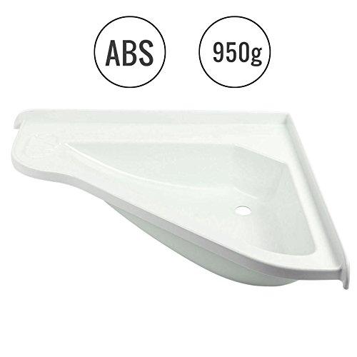 Caravana Caravana lavabo grande, (L/B/T): 580x 540x 90mm, color blanco, Plástico ABS