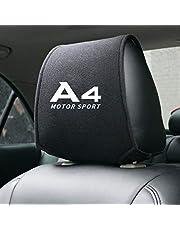 2 Stks Auto Hoofdsteun Auto Hoofdsteun Reizen Neksteun Houder Auto Stoelhoezen Voor Audi A4 A5 A6 A8 C6 C5 A1 A7 A8 Q2 Q3 Q5 Q7 Tt