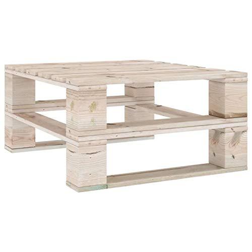 Festnight Palettenmöbel Garten-Palettentisch Gartentisch Gartenmöbel Holz Europaletten Palette Low Table Imprägniertes Kiefernholz