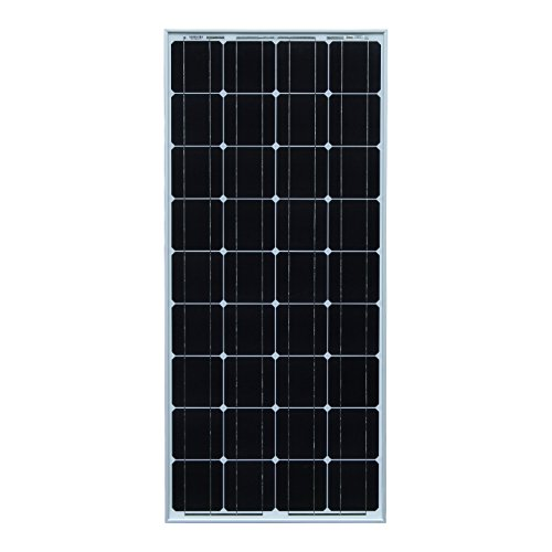 100W Photonic Universe monocrystalline solar panel with 5m of special solar cable, for charging a 12V battery in a…