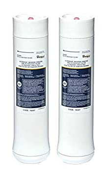 Whirlpool WHEERF Replacement Water Filter Cartridges White 9.8 x 2.5 x 2.5 inches