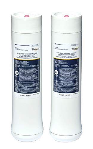Whirlpool WHEERF Replacement Water Filter Cartridges White, 9.8 x 2.5 x 2.5 inches
