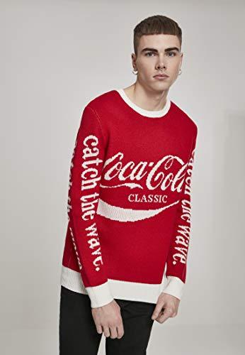 MERCHCODE Coca Cola Xmas - Sudadera Hombre