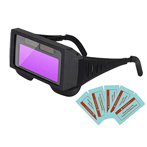 YOULY Solar Auto Oscurecimiento Lcd Soldadura Casco Gafas Gafas Protector de Ojos Tapa de Soldador Gafas Máquina de Soldadura