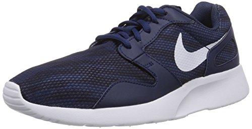 Nike Kaishi Print, Herren Laufschuhe, Blau (Midnight Navy/White-Obsidian 141), 42 EU