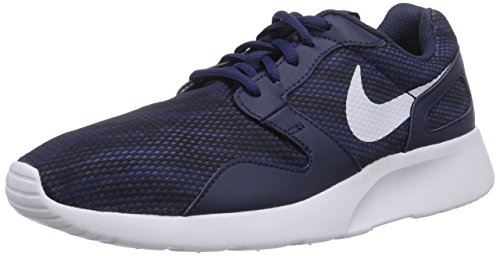 Nike Kaishi Print, Zapatillas de Running Hombre, Blau (Midnight Navy/White-Obsidian 141), 44 EU