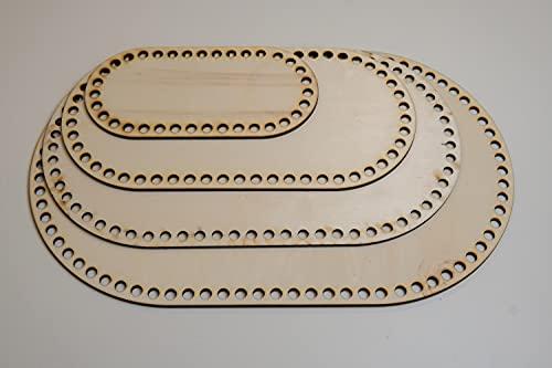 Selfmade Korbboden oval (10 cm + 15 cm + 20 cm + 25 cm)