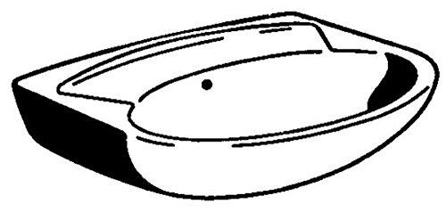 Gustavsberg Handwaschbecken 550 x 445