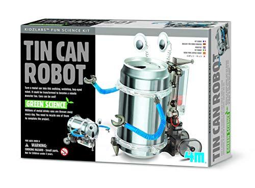 Kit du robot canette 4M en fer-blanc