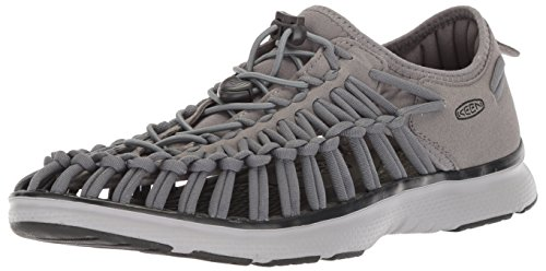 KEEN Herren Uneek O2 Aqua Schuhe, Mehrfarbig (Steel Grey/Raven 1018719), 42 EU