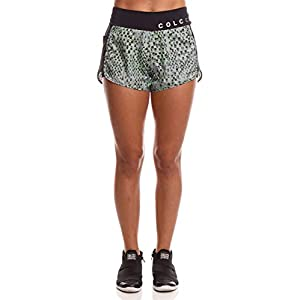 Shorts Aspen com logo no cós, Colcci Fitness, Feminino