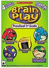 Scholastic Brain Play Pre K - 1st Grade Compilation; 1st Edition [Old Version]