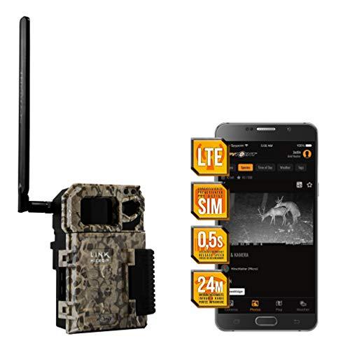 Spypoint LINK-Micro LTE Wildkamera/Tierkamera mit SIM-Karte für Smartphone Übertragung, Wildtierkamera mit Infrarot, 4 LEDs, 10 Megapixel