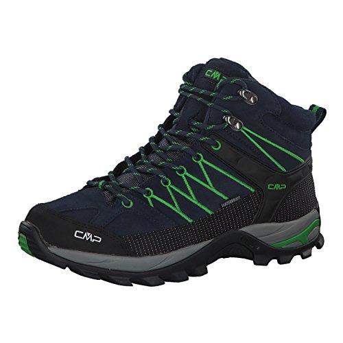 CMP Herren Rigel Mid Shoe Wp Trekking-& Wanderstiefel, Blau (B.Blue-Gecko 51ak), 46 EU