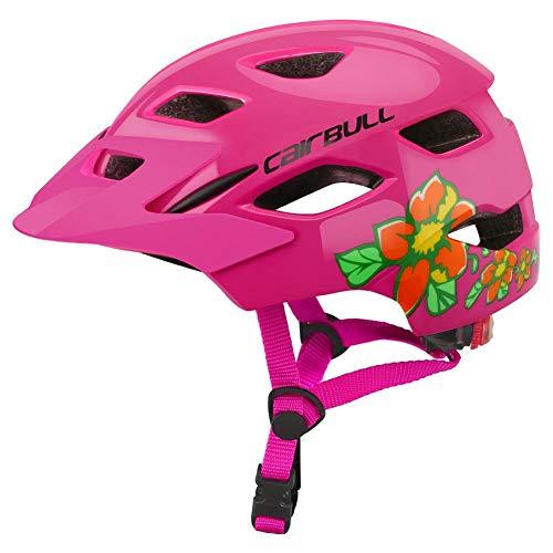 Seasons Shop Kinderfietshelm, mountainbike-helm, comfortabel en verstelbaar, veiligheidshelm voor fiets, evenwicht, scooter, handsome