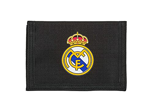Cartera Billetera con Cabecera de Real Madrid, 125x95mm