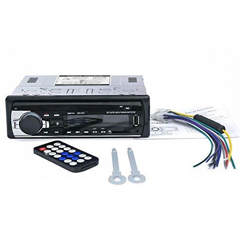 Monland Auto Autoradio Stereo Radio FM Aux-Eingang Empfaenger USB JSD-520 12V In-Strich 1 din Auto MP3 Multimedia Player