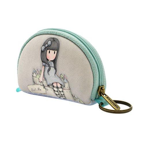 mini borsellino, porta chiavi, auricolari e piccoli accessori (verde acqua)