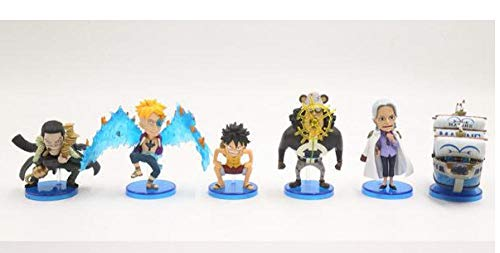 MNZBZ One Piece 132 Generation Malindo Dolkal Luffy Laser Bear Ahe Naval Ship Box Egg Model Collection