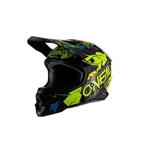 Oneal 3SRS helm Villain 2.0 Neon Yellow motorhelm MX-Motocross