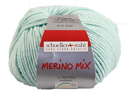 Schöller und Stahl Merino Mix-Mint
