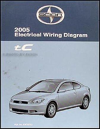 2005 scion tc wiring diagram manual original paperback – 2005