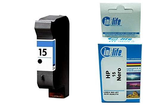 Cartucho Inklife para HP 15 - C6615DE DJ816C/25C/40C Inkjet/inyección de tinta