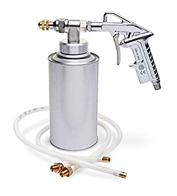 Eastwood Undercoating Gun with Two Adjustable Hoses Bottle Straight Spray Tips