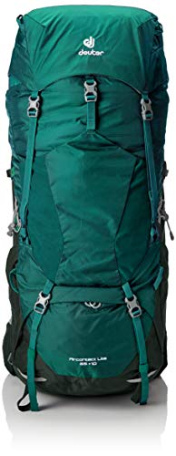 DEUTER Aircontact Lite 65 + 10 Trekking Backpack, alpinegreen-Forest, 0