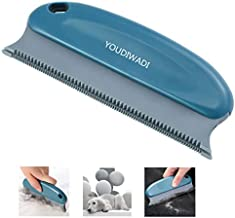 YOUDIWADI Pet Hair Remover Brush Pet Hair Detailer Dog Hair Remover Cat Hair Remover, Professional Hair Remover Brush for CleaningCarpets, Sofas, Home Furnishings and Car Interiors(Blue